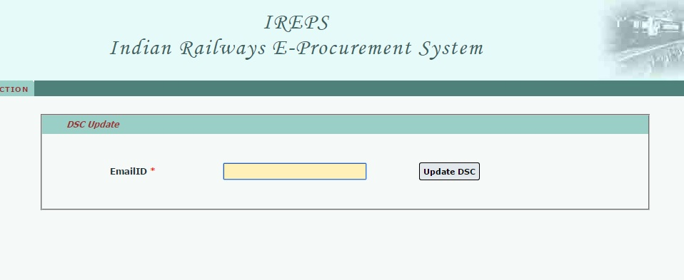 Change DSC on Iresp Portal